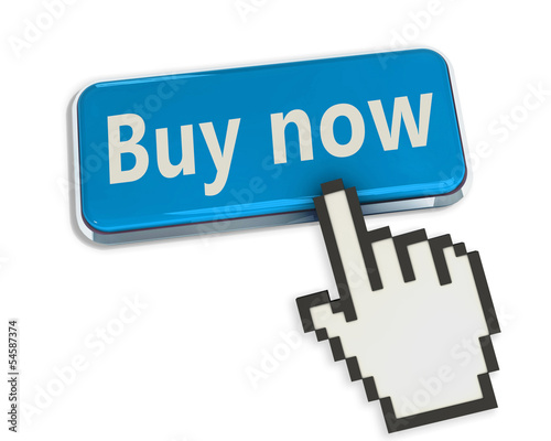 hand cursor on buy button