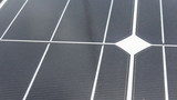 Closeup of solar cell