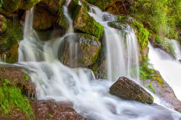 Beautiful waterfall .Catalonia.Spain