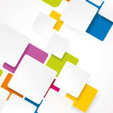 Fototapety eps10 vector abstract seamless color design