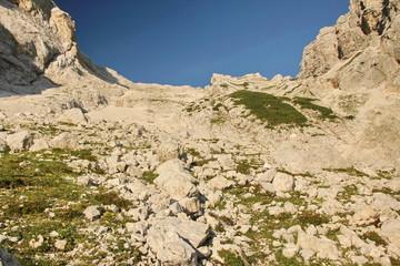 High mountains (Alps) in Slovenia