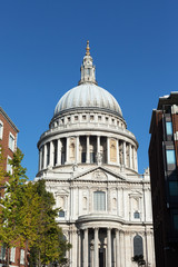 St. Pauls cathedral, London.
