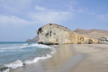 Playa de Mónsul, Cabo de Gata, Andalucía (España)