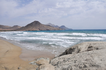 Beach of Genoveses, Cabo de Gata National Park (Spain)