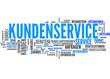 Kundenservice (Kundendienst, Service; Tagcloud)