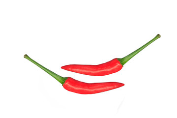 Two red chili