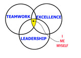 leadership, excellence and teamwork