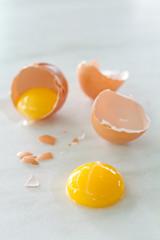 egg yolk vertical