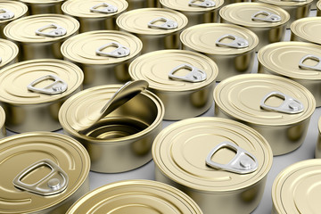 Tin cans