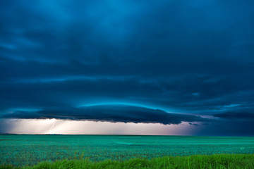 Severe storms in the plains