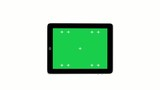 Digital tablet with Green screen