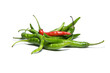 Green red chili