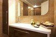 canvas print picture - Stylish bathroom design