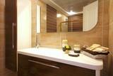 Fototapety Stylish bathroom design