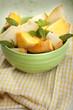 healthy melon for breakfast