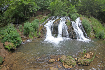 Waterfall in Strandja nature park, Bulgaria