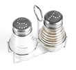 Salt and pepper mills, isolated on white