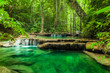 Erawan waterfall. - 54611970