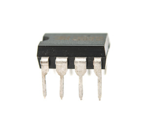 electronic chip isolated
