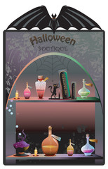Halloween Boutique Background