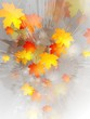 Abstract grunge autumn background. Vector illustration eps 10
