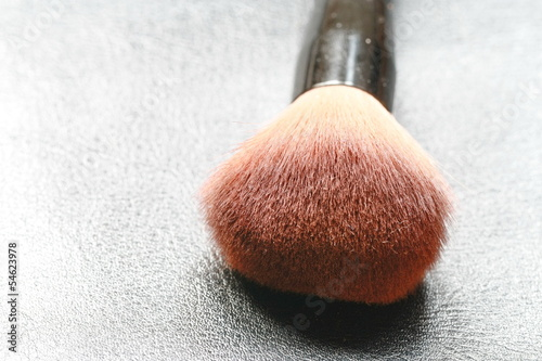 close up make up brush
