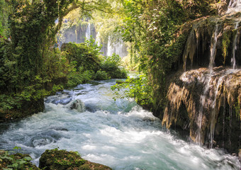Waterfall in Antalya