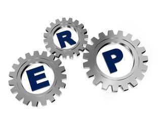 ERP in silver metal gears