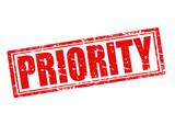 Priority-stamp poster
