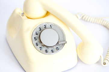 retro vintage telephone