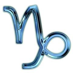 Capricorn Zodiac Symbol.