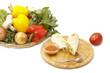 pita and ingredients
