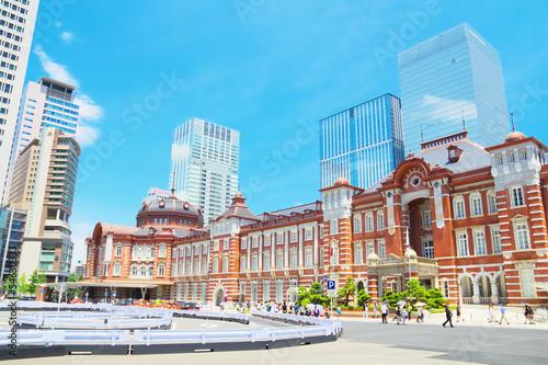 Foto op Plexiglas Treinstation Tokyo station