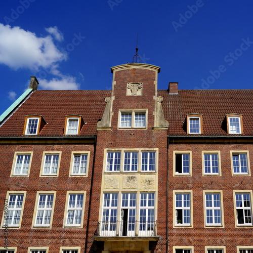 Rathaus in COESFELD  ( westl. Münsterland )