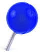 épingle de signalisation tête boule bleue