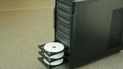Copy laserdiscs