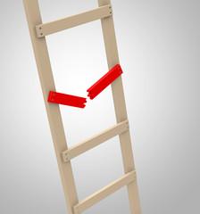 Die gebrochene Leiterstufe