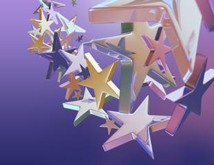 Tło z gwiazdami