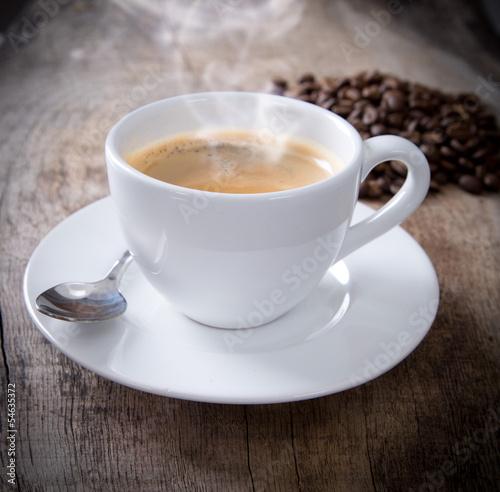 Staande foto Koffiebonen Coffee cup