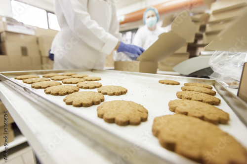 Papiers peints Assortiment Cookies factory