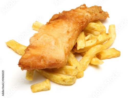 Fish & Chips - 54636321