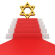 David star on red carpet