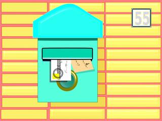 Buzón de correos particular
