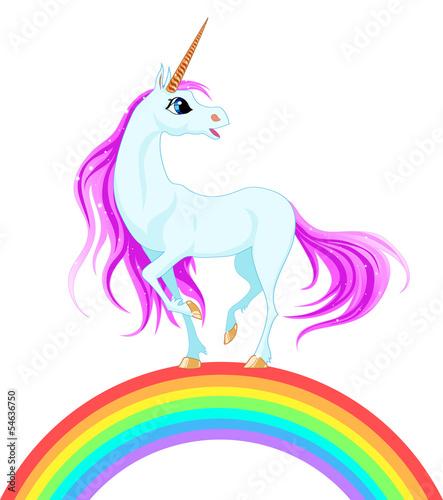 blue unicorn - 54636750
