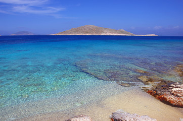 Ftenagia Beach, Halki Island, Greece