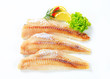 Fresh fish fillets