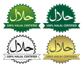 4 halal product labels