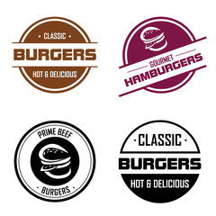 hamburger labels