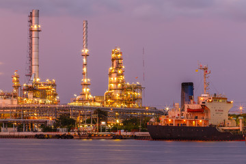 petroleum and oil refinery