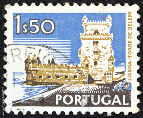 Belem Tower, Lisbon (Portugal 1972)